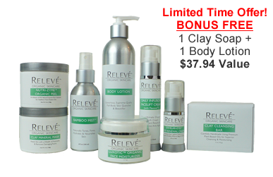Releve Complete Natural Skin Care Kit